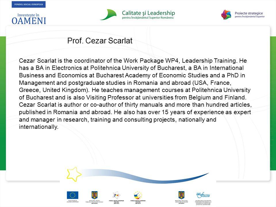 Prof. Cezar Scarlat