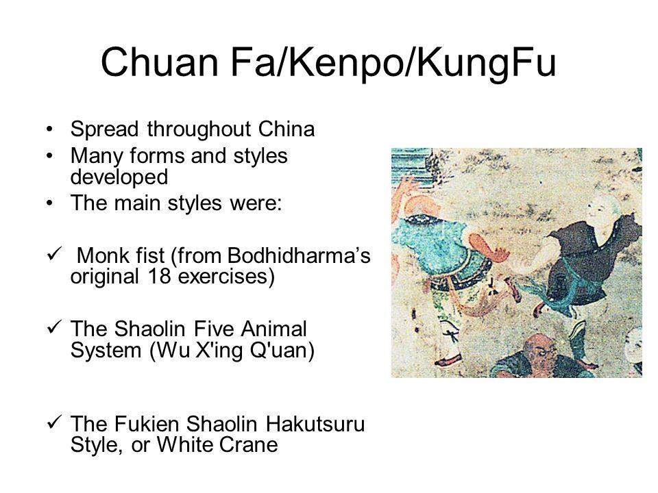Chuan Fa/Kenpo/KungFu