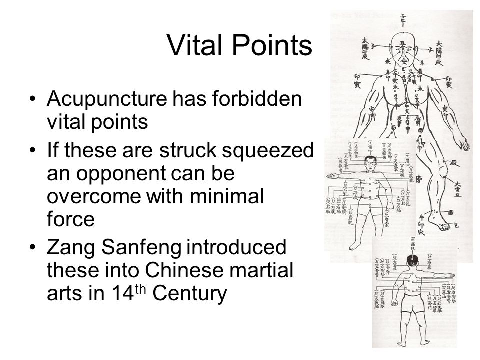 Vital Points Acupuncture has forbidden vital points