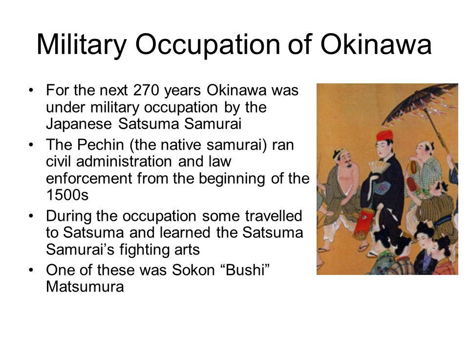 Military Occupation of Okinawa