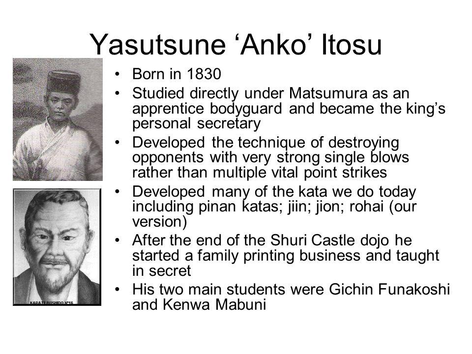 Yasutsune 'Anko' Itosu