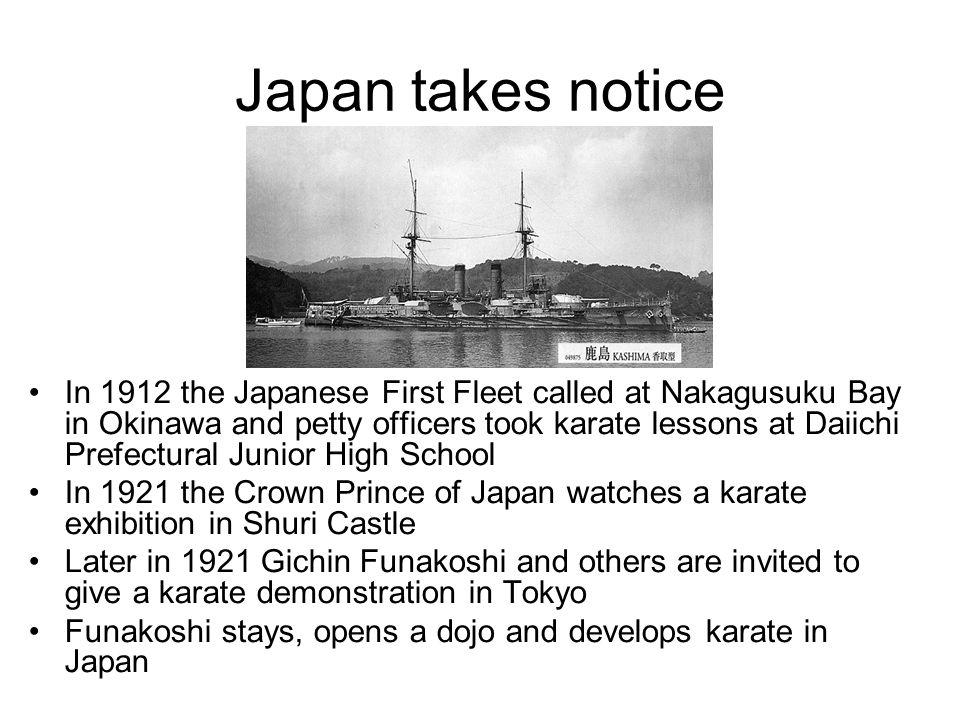 Japan takes notice