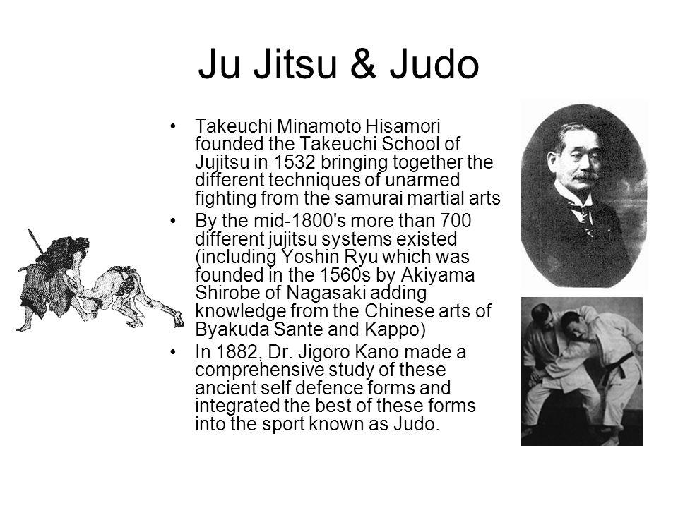 Ju Jitsu & Judo