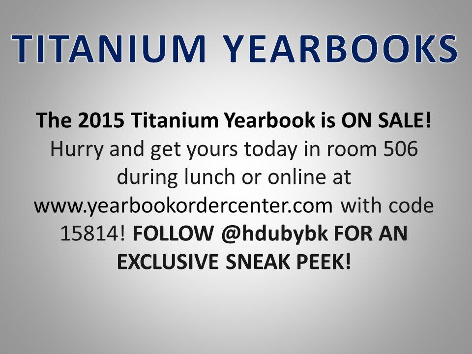 TITANIUM YEARBOOKS