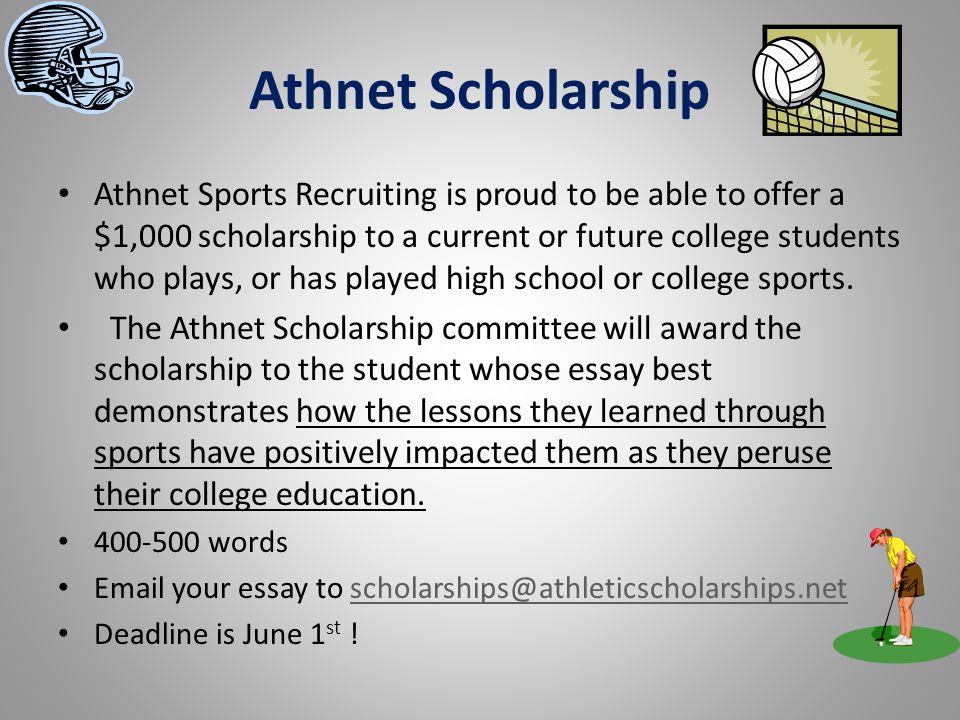 Athnet Scholarship