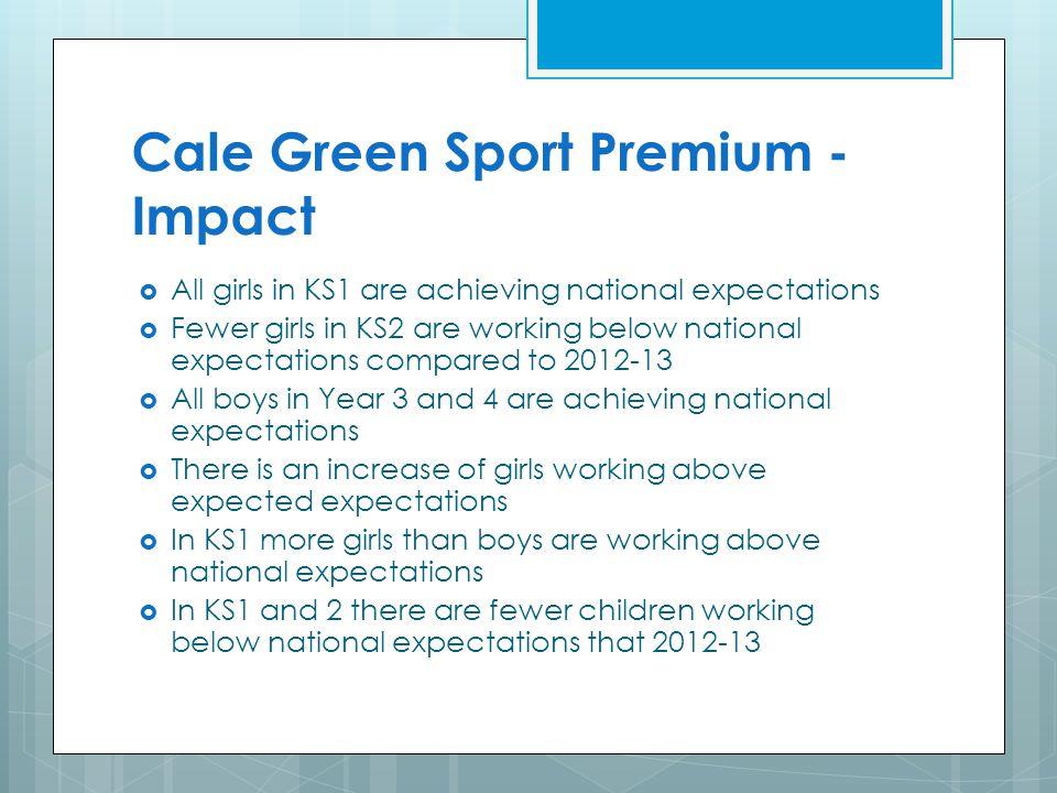 Cale Green Sport Premium - Impact