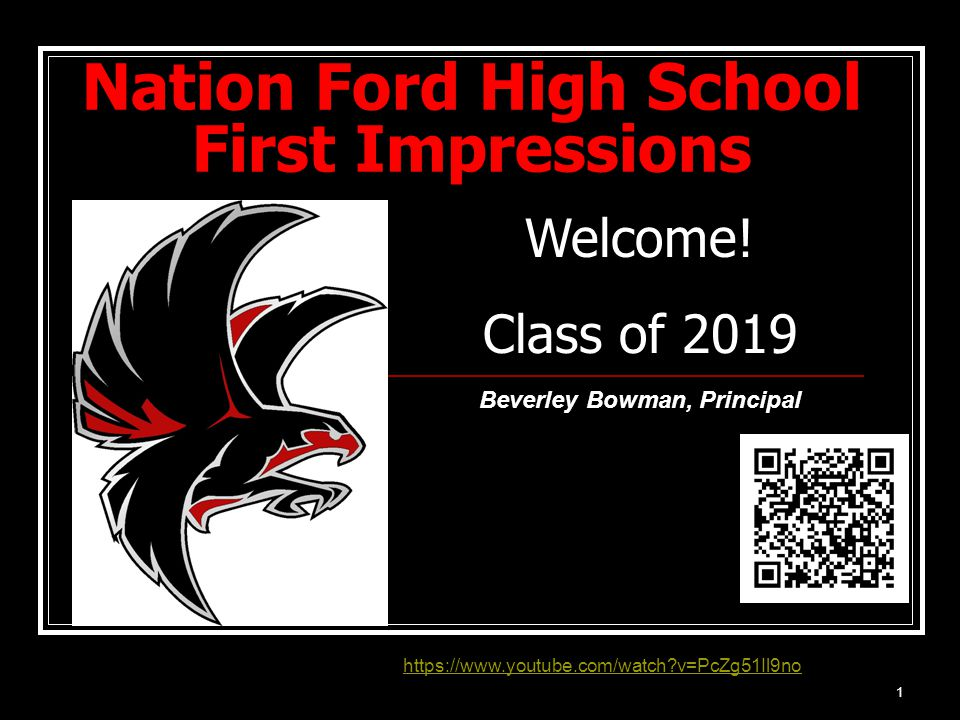 Nation Ford High School First Impressions