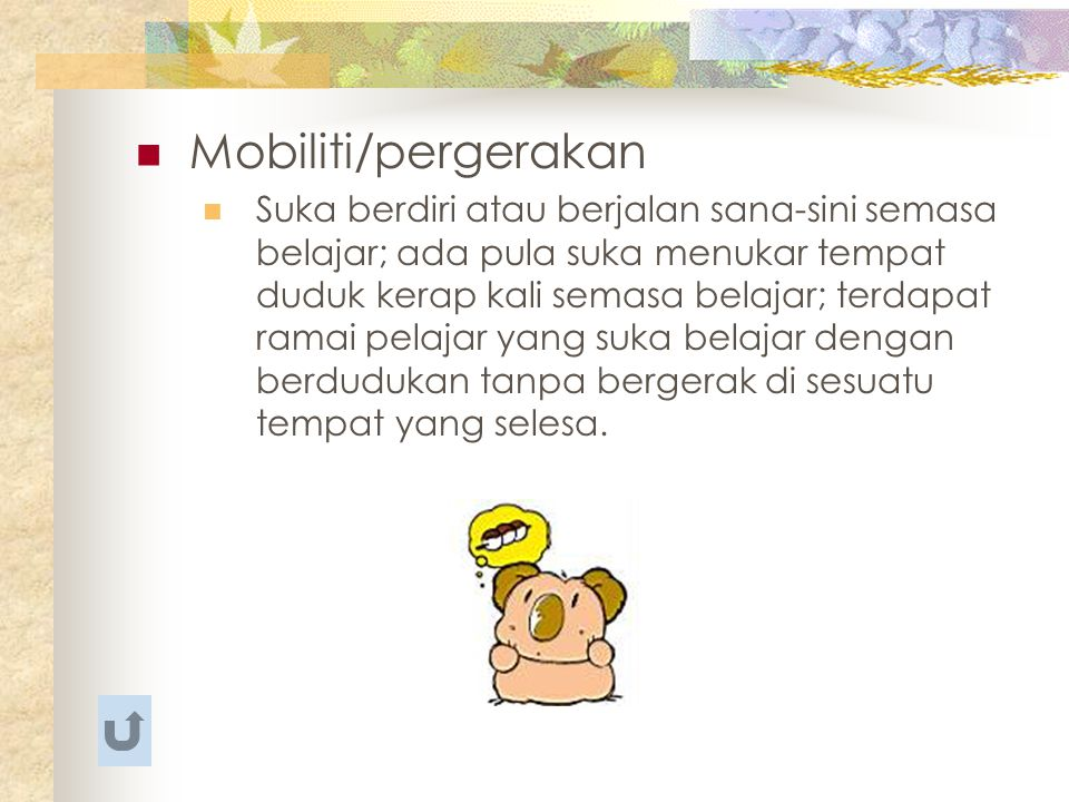Mobiliti/pergerakan