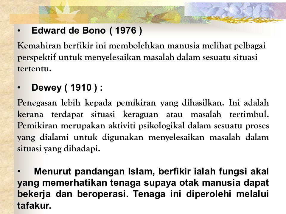 Edward de Bono ( 1976 )