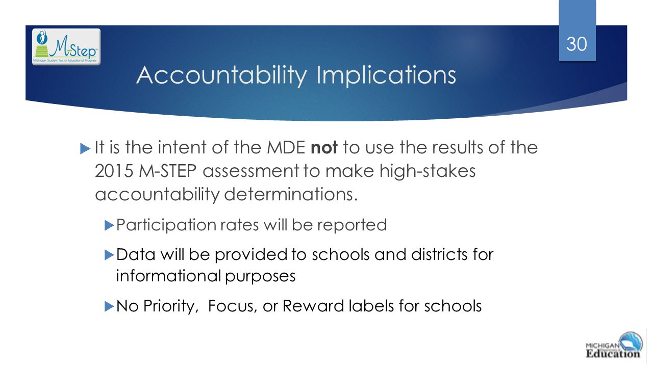Accountability Implications