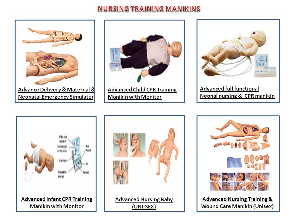 NURSING TRAINING MANIKINS