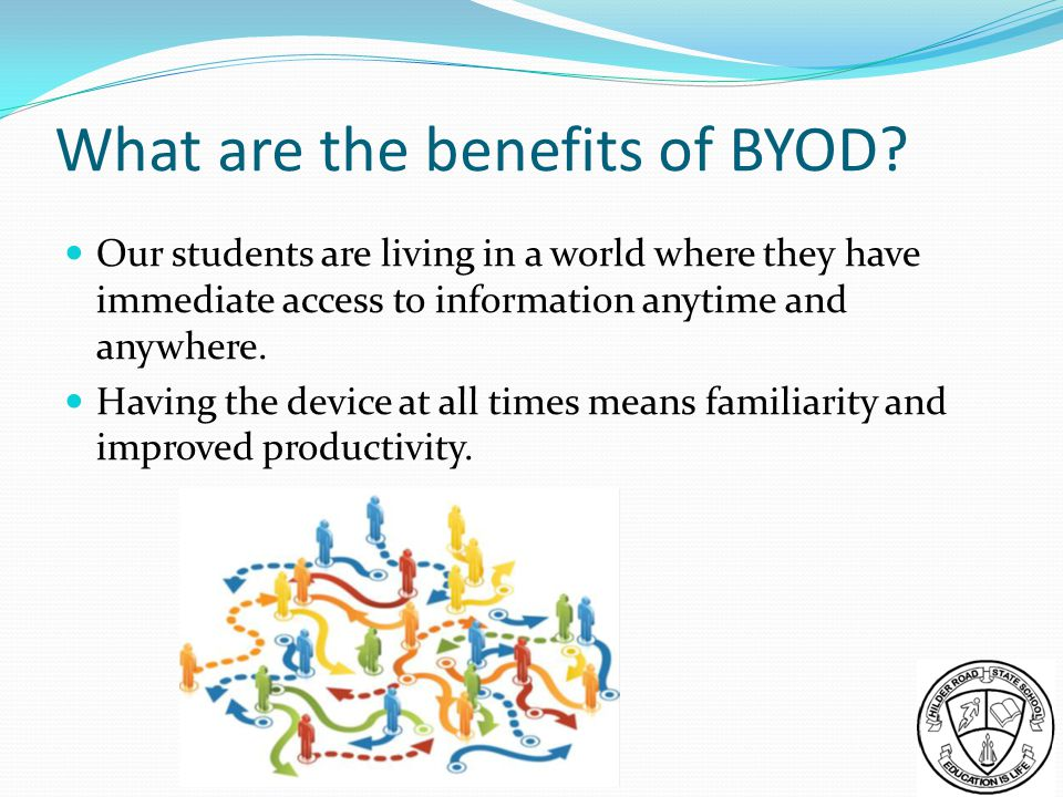 What are the benefits of BYOD