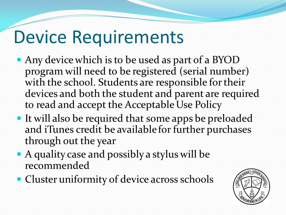 Device Requirements