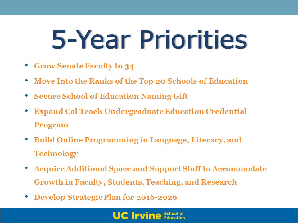 5-Year Priorities Grow Senate Faculty to 34