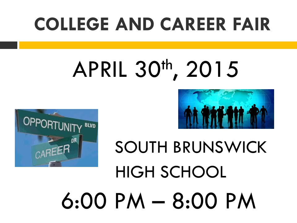 COLLEGE AND CAREER FAIR