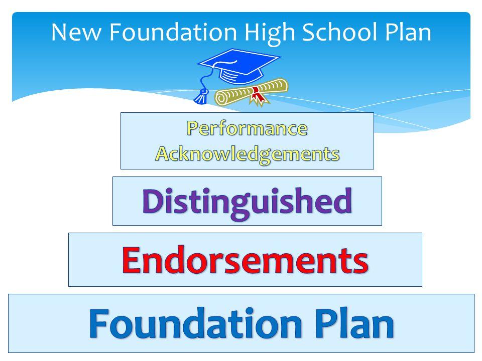 New Foundation High School Plan