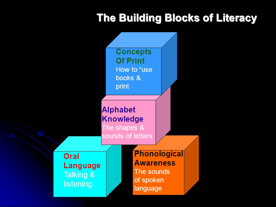 The Building Blocks of Literacy