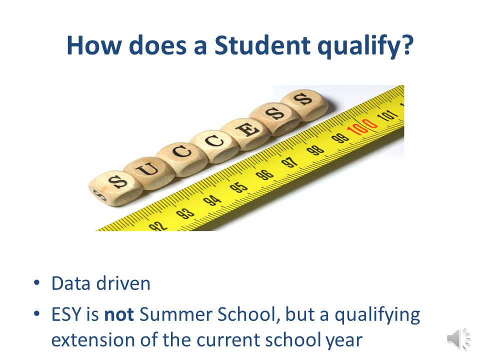 How does a Student qualify