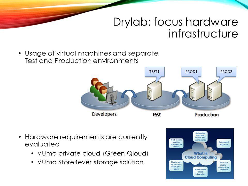 Drylab: focus hardware infrastructure
