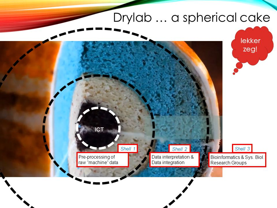 Drylab … a spherical cake