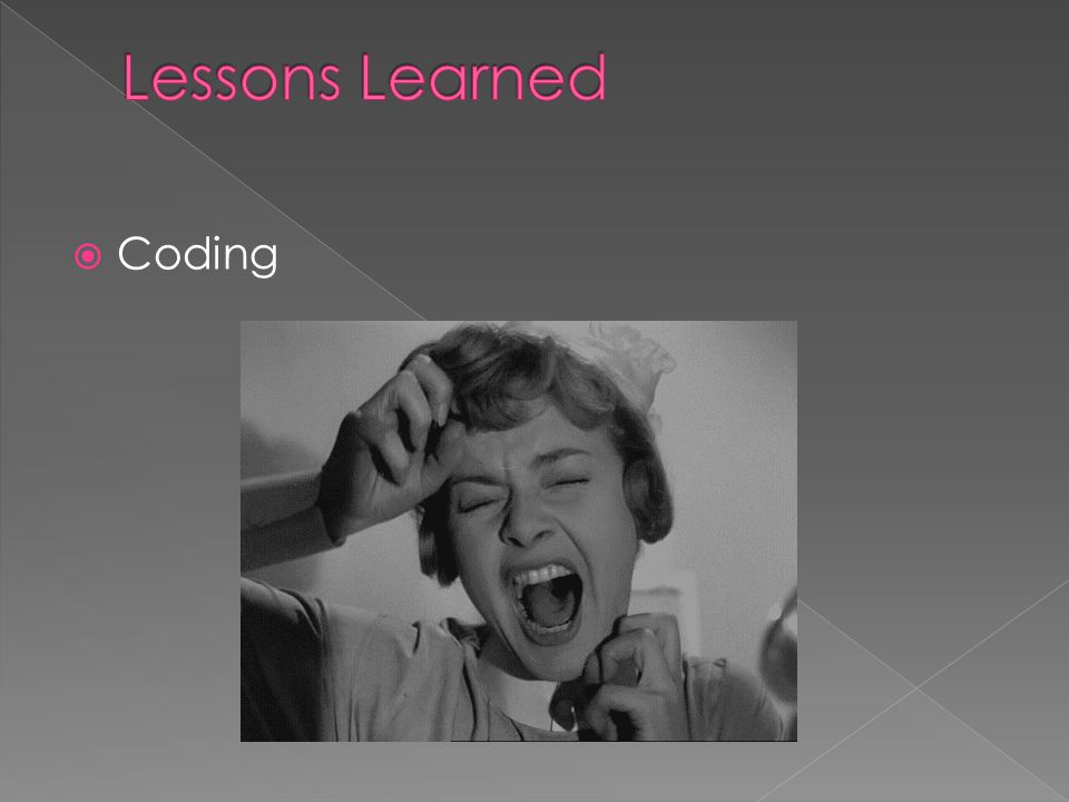 Lessons Learned Coding Nikki Scream gif