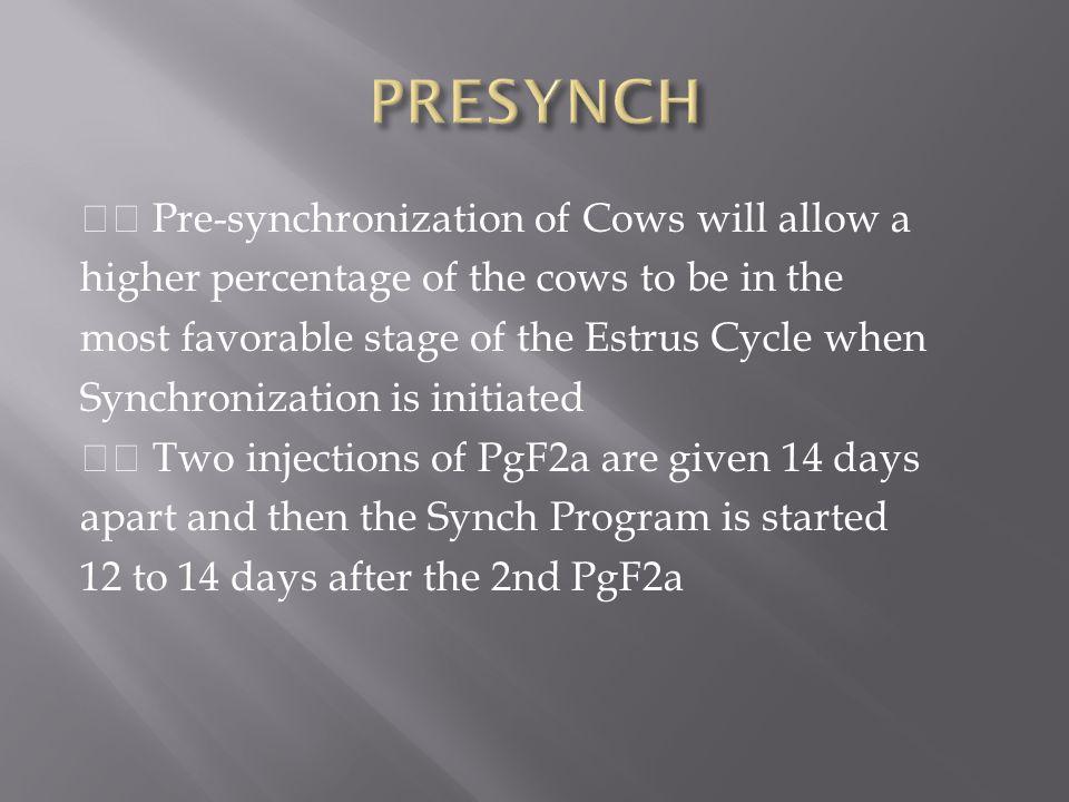 PRESYNCH