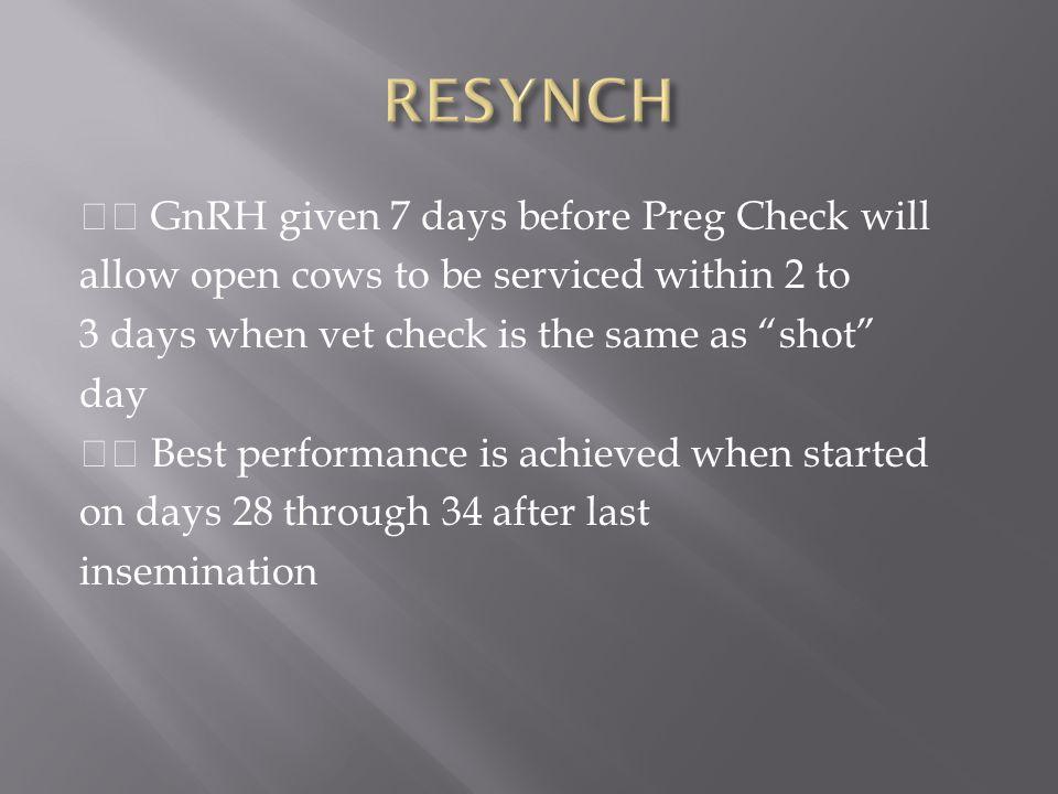 RESYNCH
