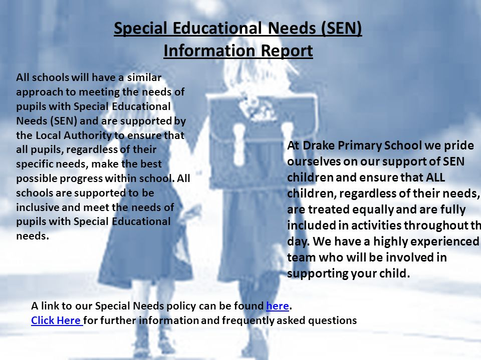Special Educational Needs (SEN) Information Report