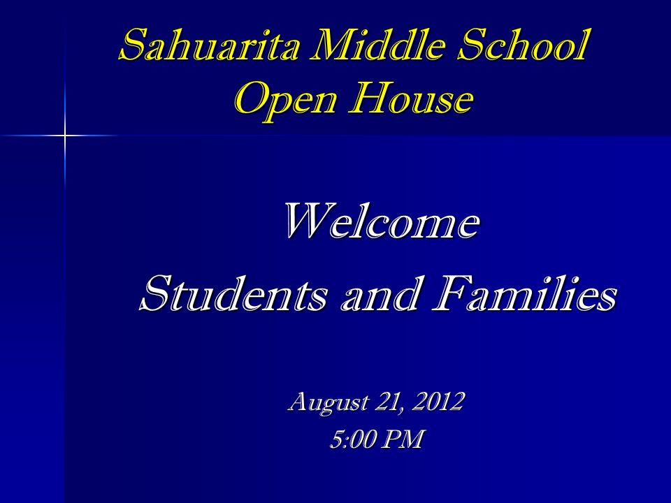 Sahuarita Middle School Open House