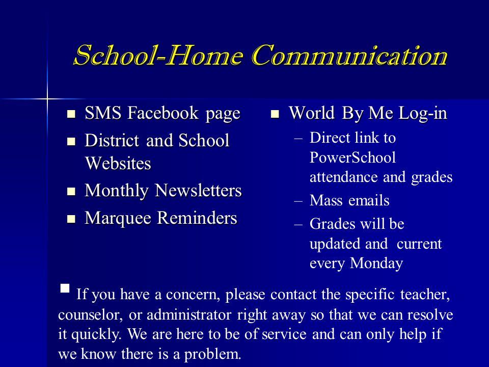 School-Home Communication
