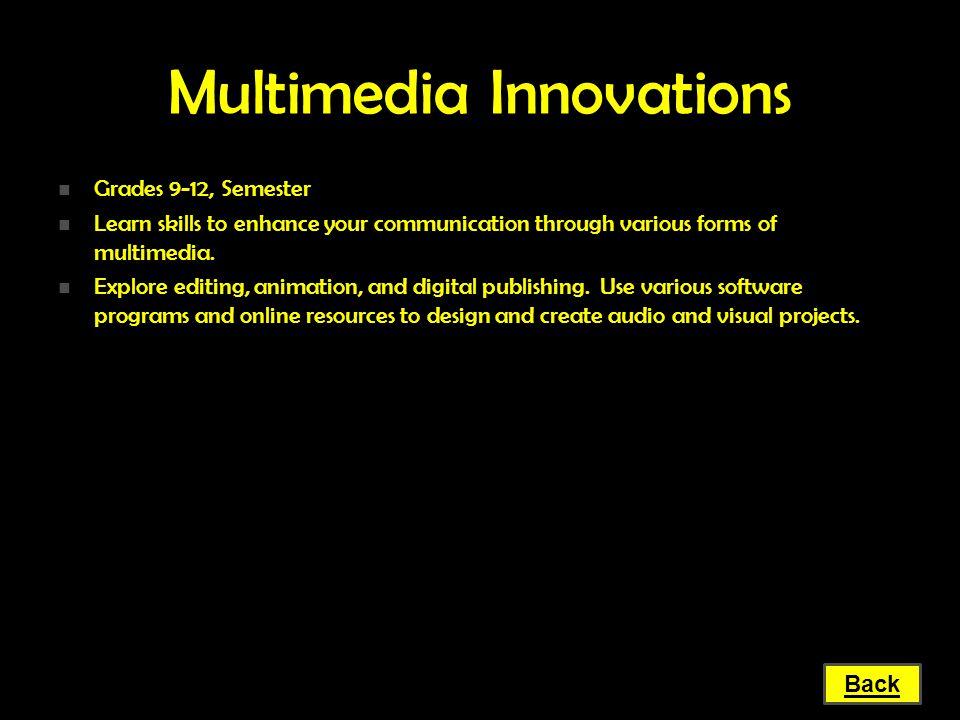 Multimedia Innovations