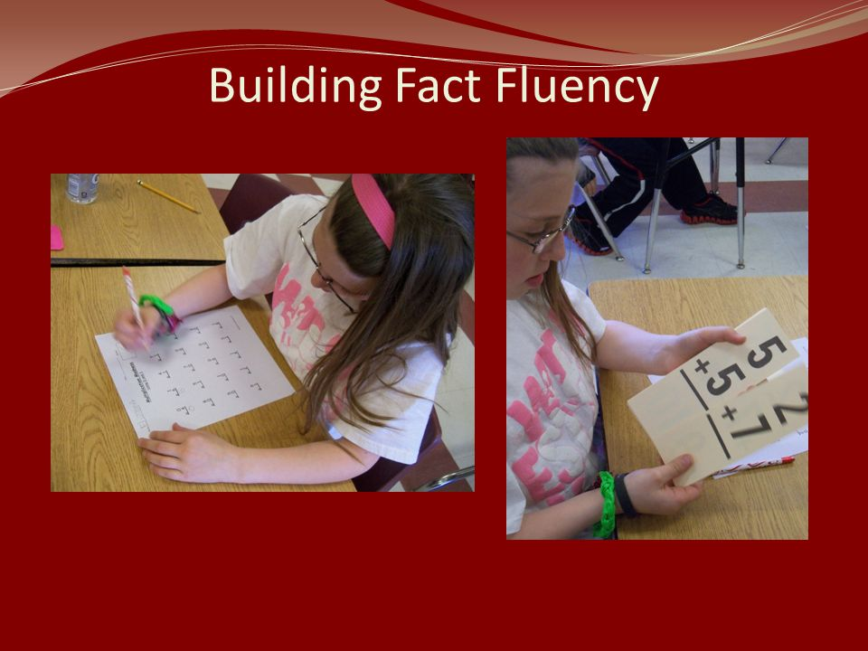 Building Fact Fluency