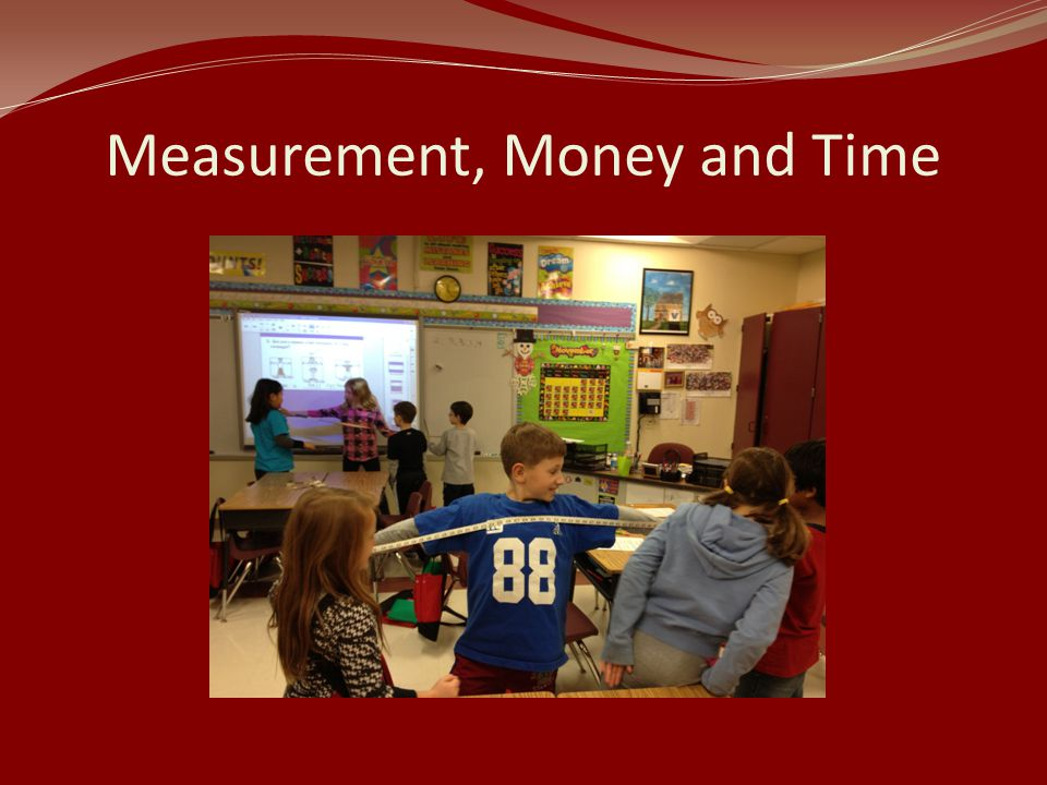 Measurement, Money and Time