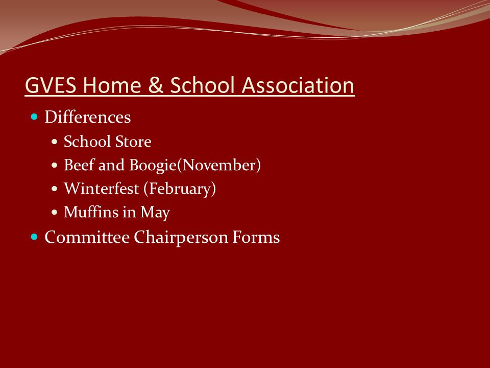 GVES Home & School Association