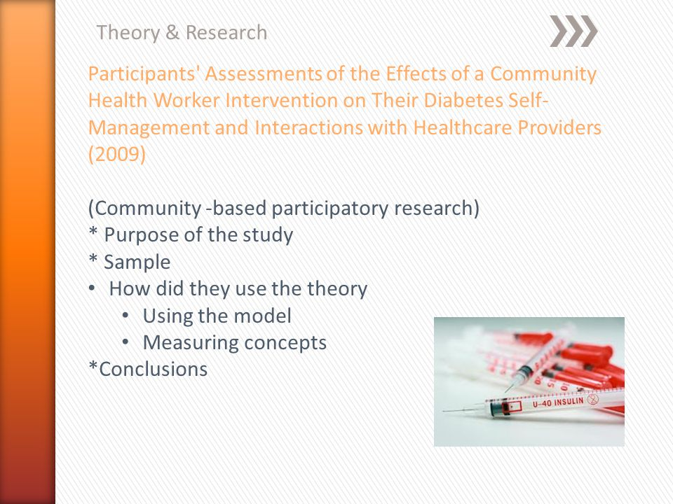 Theory & Research