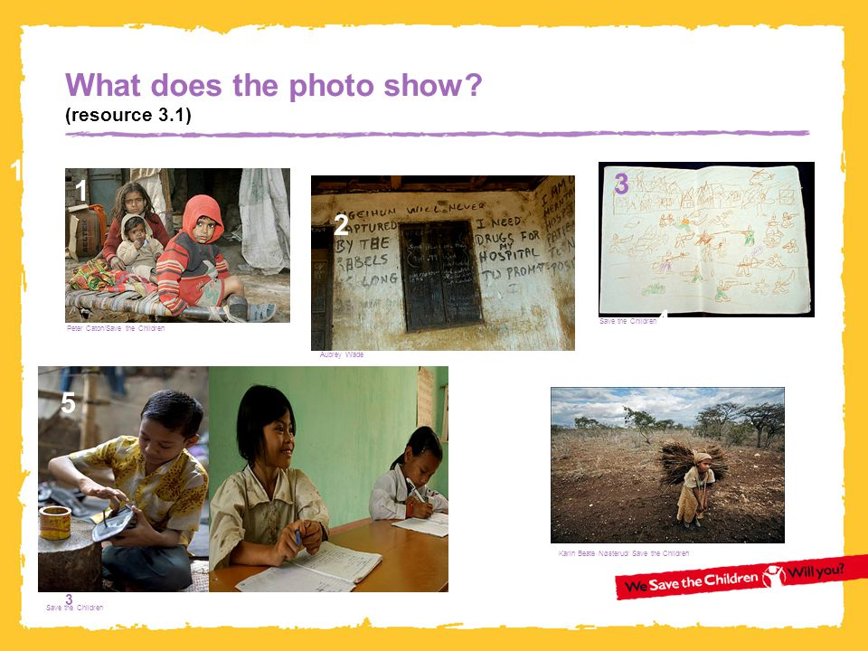 What does the photo show (resource 3.1)