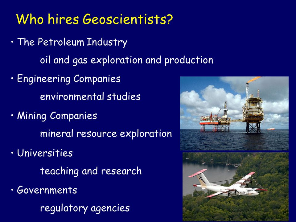 Who hires Geoscientists