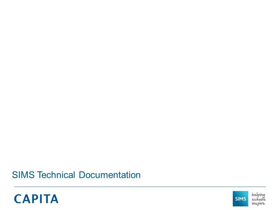 SIMS Technical Documentation