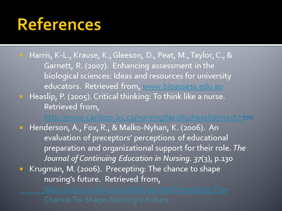 assessment of critical thinking in nursing
