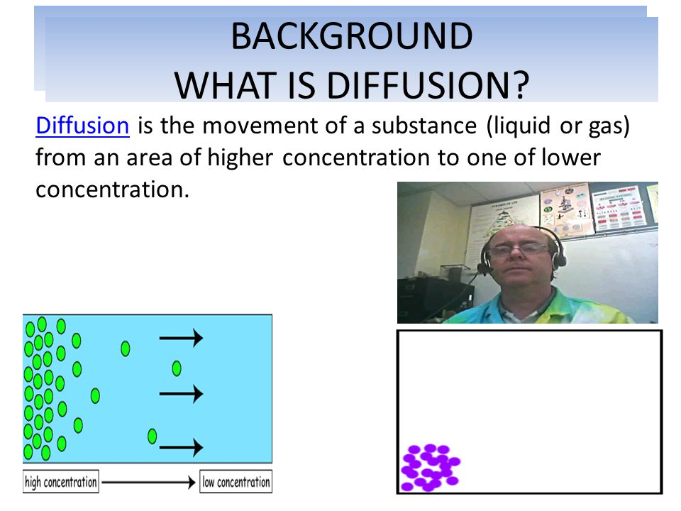 WHAT IS DIFFUSION BACKGROUND WHAT IS DIFFUSION