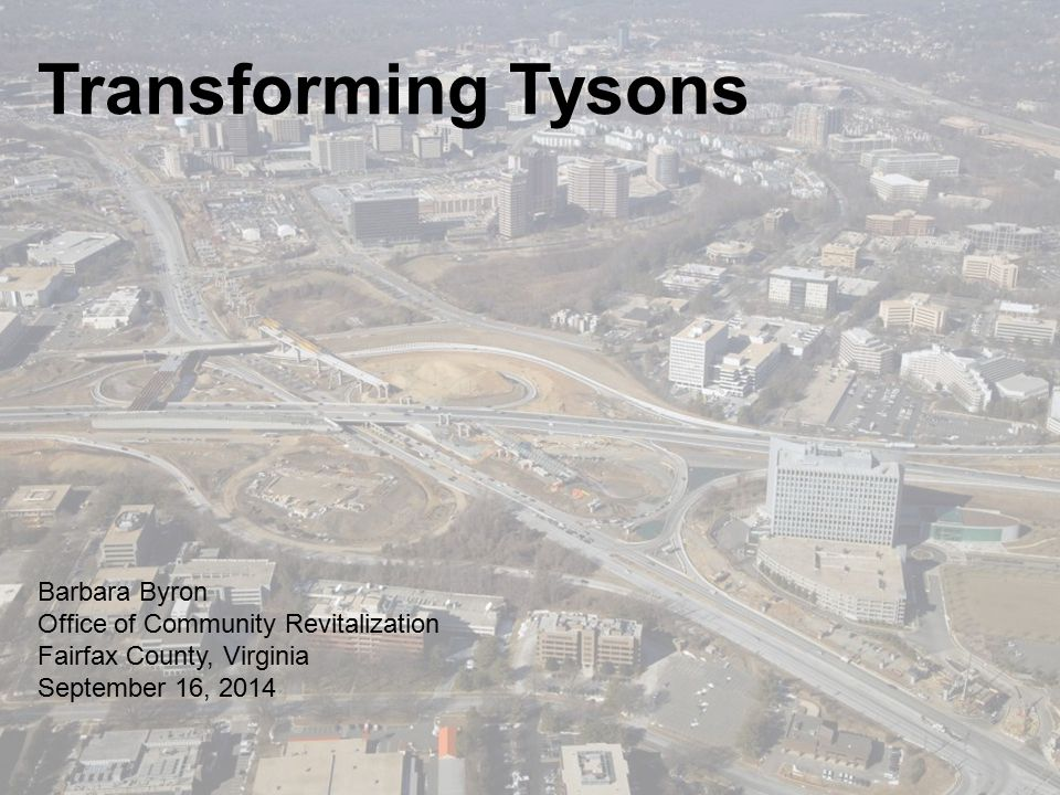 What's Happening What's happening in Tysons A lot!