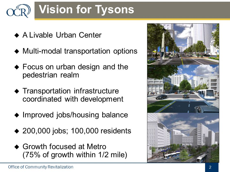 Tysons Today Economic engine of No. Va. 12th largest CBD in U.S.