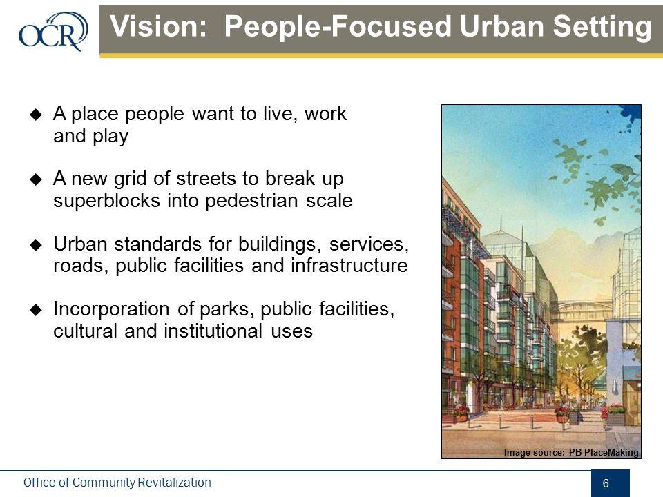 Vision: Focus Density/Improve Use Mix