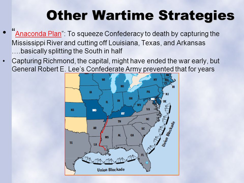 Other Wartime Strategies