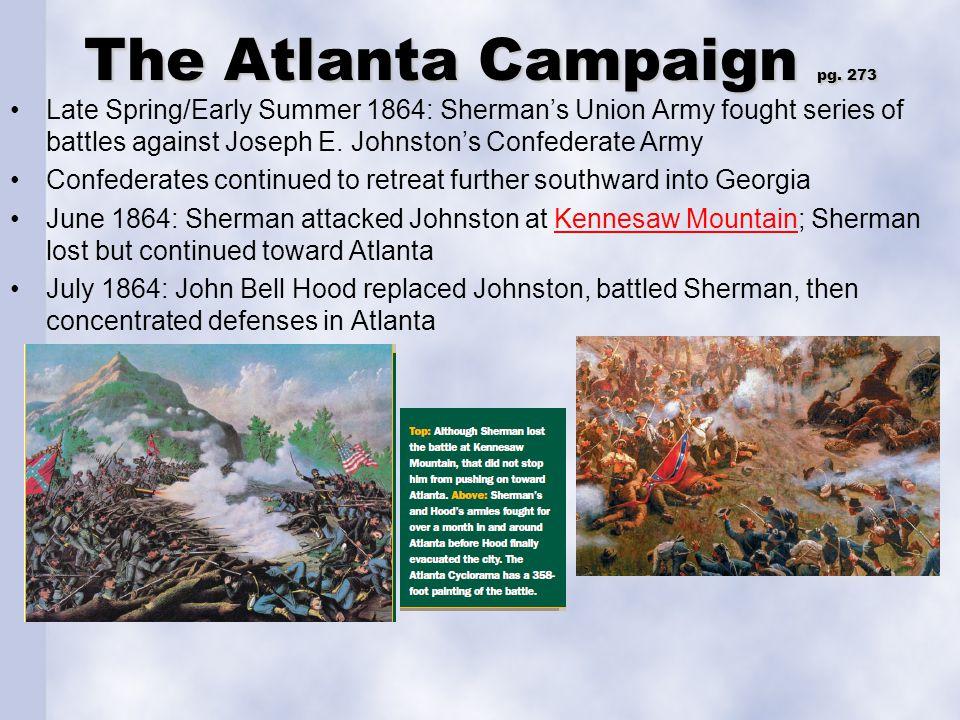 The Atlanta Campaign pg. 273