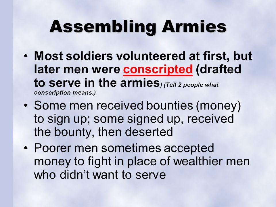 Assembling Armies