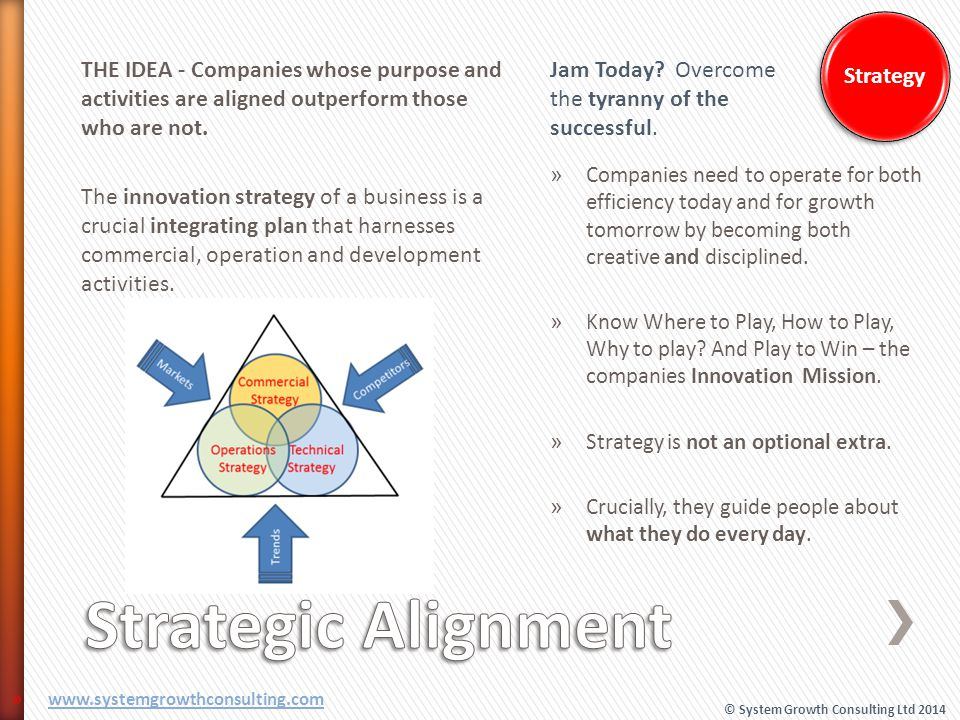 Strategic Alignment Strategy