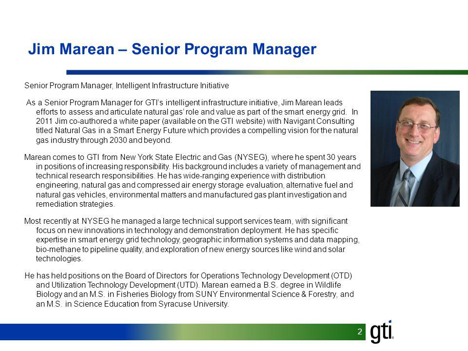 Jim Marean – Senior Program Manager