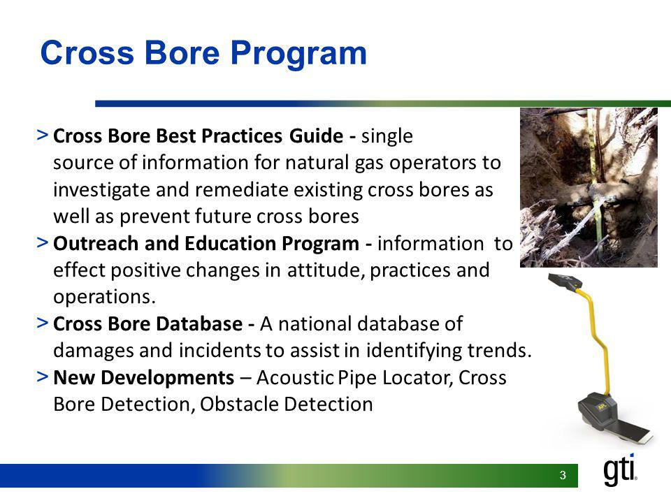 Cross Bore Program