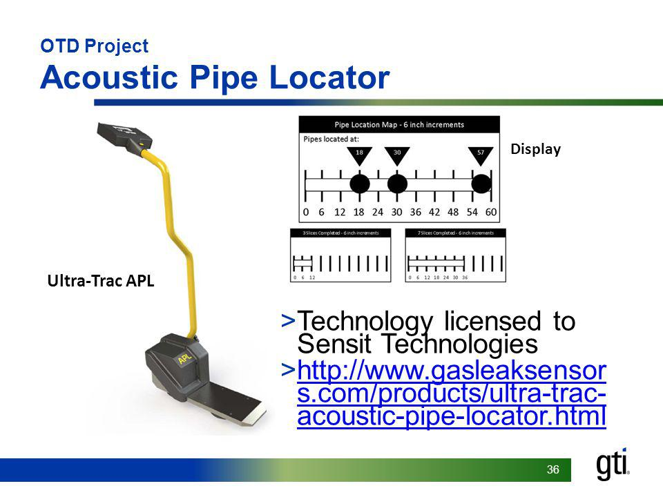 OTD Project Acoustic Pipe Locator